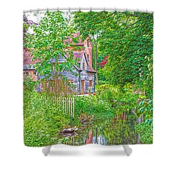 Rooksbury Mill Shower Curtain