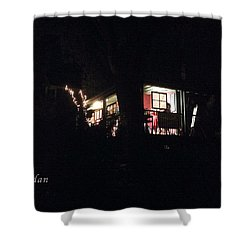 Shower Curtain featuring the photograph Room In The Sky by Felipe Adan Lerma