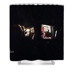 Room In The Sky Shower Curtain by Felipe Adan Lerma