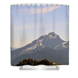 Room To Think Shower Curtain