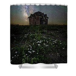 Shower Curtain featuring the photograph Room With A View by Aaron J Groen