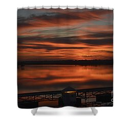 Room With A View Shower Curtain by Kathy Baccari