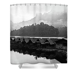 Room With A View - Kho Sok Thailand Shower Curtain