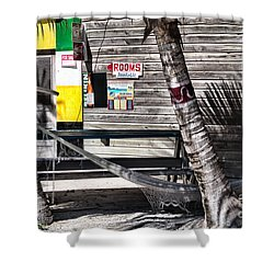 Shower Curtain featuring the photograph Rooms Available by Lawrence Burry