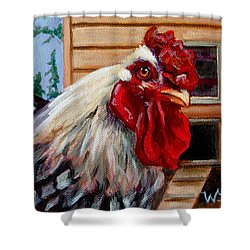 Roopert Shower Curtain by Pattie Wall