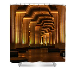 Roosevelt Night Shot Shower Curtain