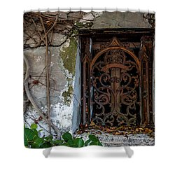 Roots And Rust Shower Curtain