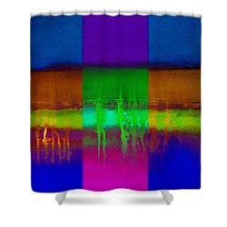 Roots In The Land Shower Curtain by Charles Stuart