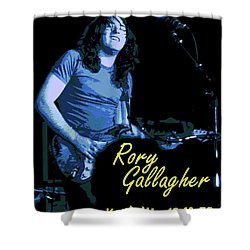 Rory In Kent Shower Curtain by Ben Upham