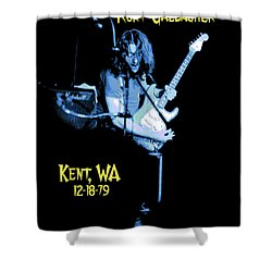 Shower Curtain featuring the photograph Rory Kent Blues by Ben Upham