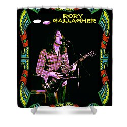 Rory Messin' With The Kid 2 Shower Curtain by Ben Upham