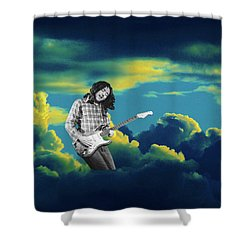 Shower Curtain featuring the photograph Rory Morning Sun by Ben Upham
