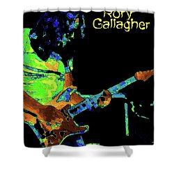 Shower Curtain featuring the photograph Rory Pastel by Ben Upham
