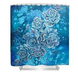 Rosa Stellarum Shower Curtain