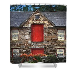 Roscommon Cottage Shower Curtain