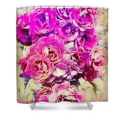 Rose 388 Shower Curtain