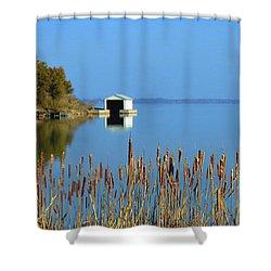 Rose Bay Shower Curtain