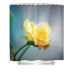 Rose Bling Shower Curtain
