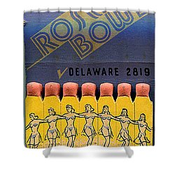 Rose Bowl Chicago Matches Shower Curtain
