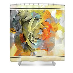 Shower Curtain featuring the photograph Rose Bud by Athala Carole Bruckner