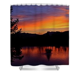 Rose Canyon Morning Shower Curtain