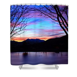 Rose Canyon Shower Curtain by Paul Marto