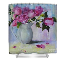 Rose Day Shower Curtain
