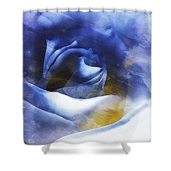 Shower Curtain featuring the photograph Rose - Daydreams - Dreamscape by Janine Riley