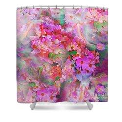 Rose Devas Shower Curtain