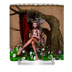 Rose Fae Shower Curtain