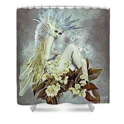 Rose Fairy Shower Curtain by Ali Oppy