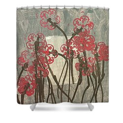 Rose Field Shower Curtain