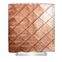 Rose Gold Crush Shower Curtain