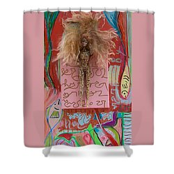Rose Herbal Tincture Shower Curtain