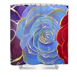 Rose Medley Shower Curtain
