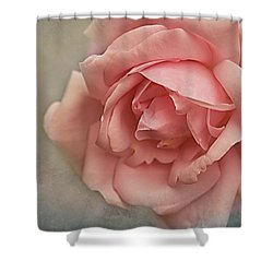 Rose New Dawn Shower Curtain