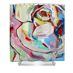 Rose Number 1 Shower Curtain by John Jr Gholson