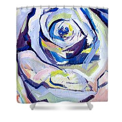 Rose Number 2 Shower Curtain by John Jr Gholson
