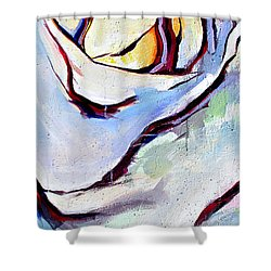 Rose Number 3 Shower Curtain by John Jr Gholson