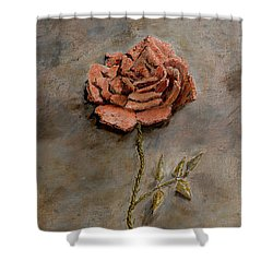 Rose Of Regeneration Shower Curtain