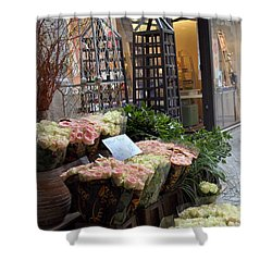 Rose Stand Shower Curtain