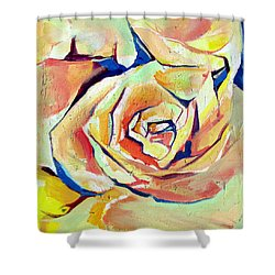 Rose Sun Shower Curtain by John Jr Gholson
