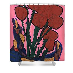Rosebed Shower Curtain