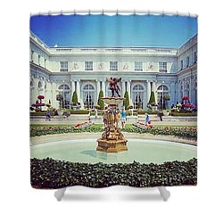 A Luxurious Afternoon  Shower Curtain