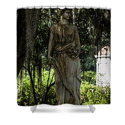 Rosedown Plantation Gardens Shower Curtain by Ken Frischkorn