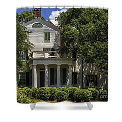 Shower Curtain featuring the photograph Rosedown Plantation Main House Side View by Ken Frischkorn