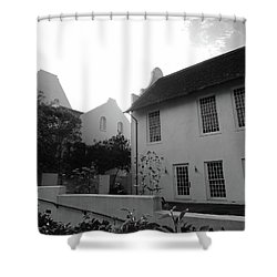 Rosemary Beach Shower Curtain by Megan Cohen