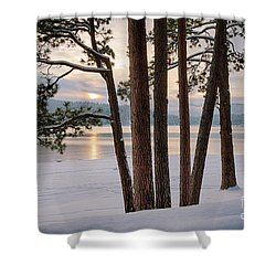 Rosenberry Sunset Shower Curtain
