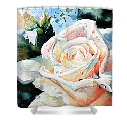 Roses 6 Shower Curtain by Hanne Lore Koehler