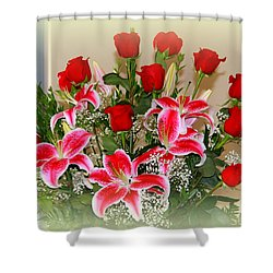 Rose's Shower Curtain